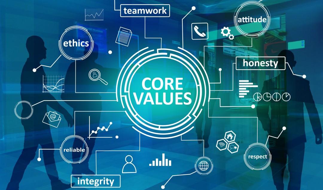 Valores de tu empresa.